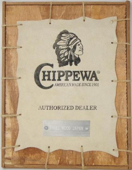 CHIPPEWA チペワ 正規代理店 THREE WOOD