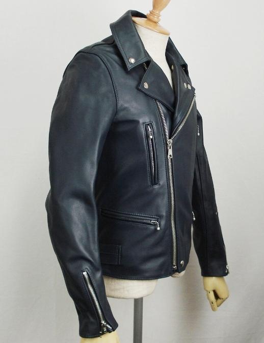 正規取扱店Lewis Leather(ルイスレザー) No.402T LIGHTNING TIGHT FIT(ライトニング タイトフィット) ダークブルー