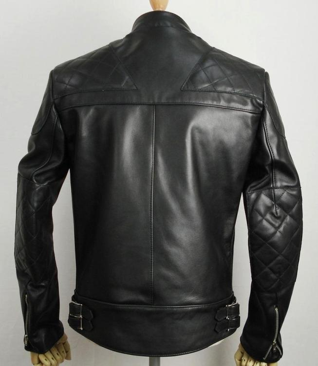 正規取扱店Lewis Leather(ルイスレザー) No.445 SUPER MONZA(スーパーモンザ) ブラック