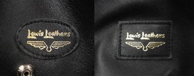 Lewis Leathers OUTSIDE LABELS