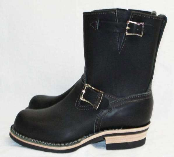 Wescoウエスコ 正規ディーラー Boss ボス Black黒革,8height,#430 sole,Wescoバックル,エンジニアブーツ