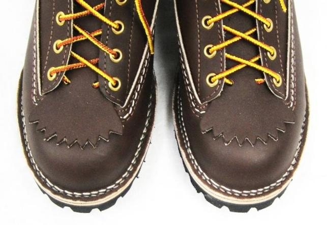Wescoウエスコ 正規ディーラー Jobmasterジョブマスター Brown ブラウン, Lace to Toe, 8height,#100 sole