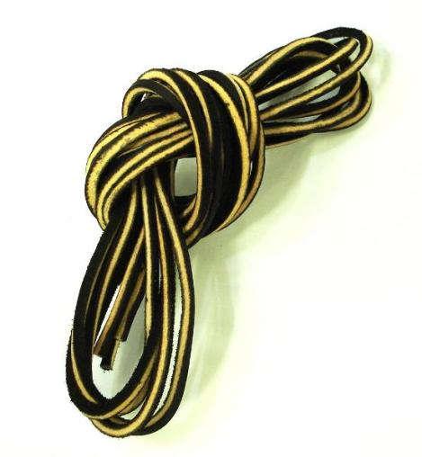 Wescoウエスコ 正規ディーラー 純正レザーシューレース 3色:ブラウン、ブラック、ホワイト