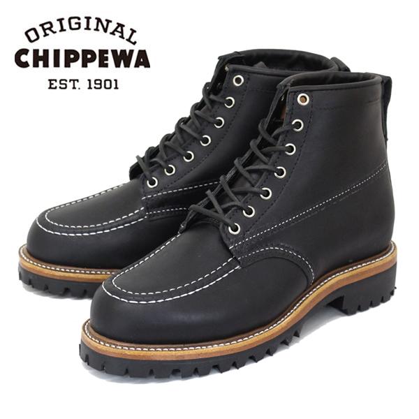 正規取扱店 CHIPPEWA チペワ 1975 6inch ORGINSULATED TREKKER トレッカー モックトゥブーツ BLACK