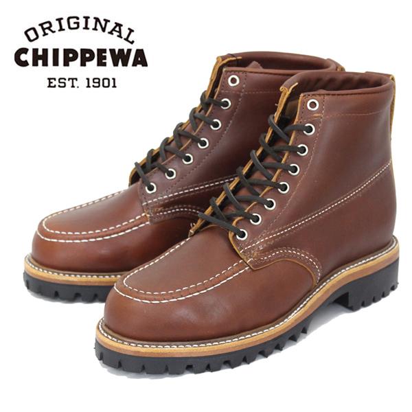 正規取扱店 CHIPPEWA チペワ 1975 6inch ORGINSULATED TREKKER トレッカー モックトゥブーツ TAN