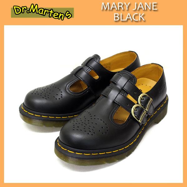 正規取扱店 Dr.Martens ドクターマーチン 8065 MARY JANE メリージェーン BLACK ブラック レディース