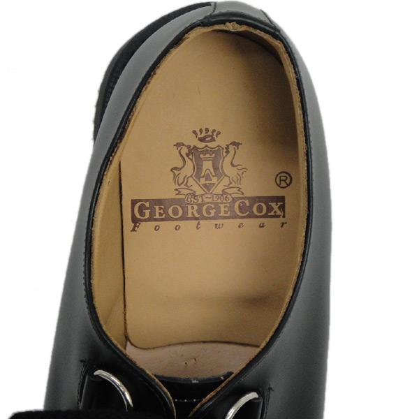 正規取扱 George Cox(ジョージコックス) 3588 AIR SOLE エアーソール 12030 D-RING GIBSON ギブソン ブラックレザー