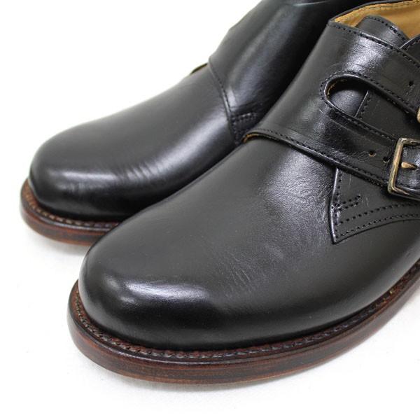 正規取扱 HTC(Hollywood Trading Company) SANTA ROSA(サンタローサ) #VALLEJO MONK BOOTS(モンクブーツ) BLACK ブラック