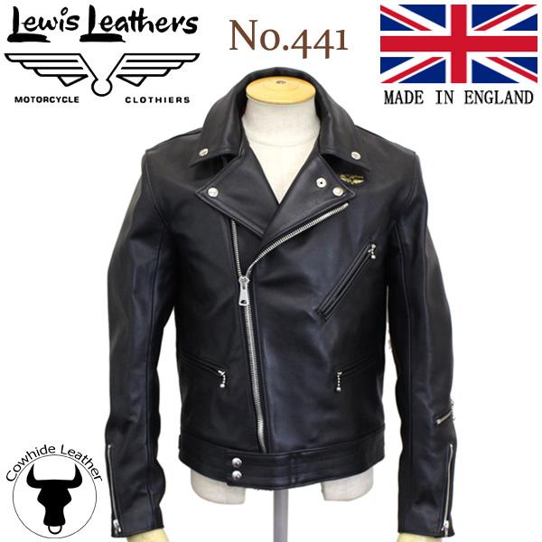 正規取扱店Lewis Leathers(ルイスレザーズ) No.441 CYCLONE(サイクロン) ブラック