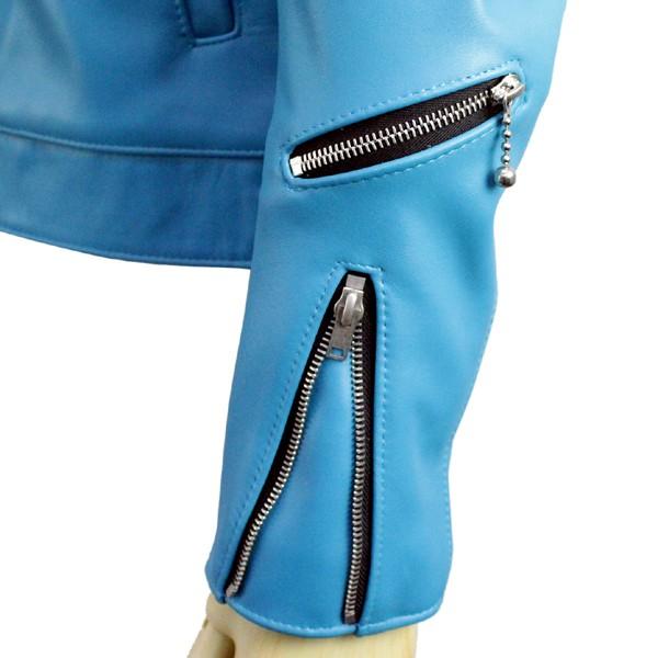 正規取扱店Lewis Leather(ルイスレザー) No.551T DOMINATOR TIGHT FIT(ドミネータータイトフィット) TURQUOISE ターコイズ