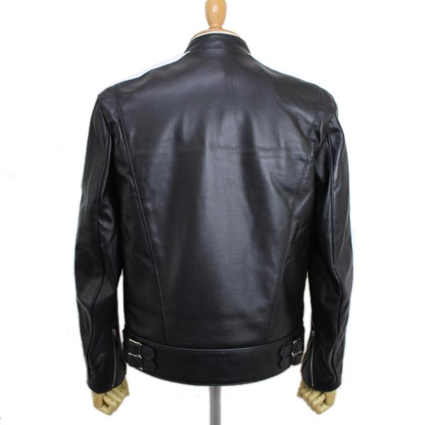正規取扱店Lewis Leather(ルイスレザー) No.68 SUPER SPORTS MAN(スーパースポーツマン) ホワイトツインストライプ BLACK ブラック