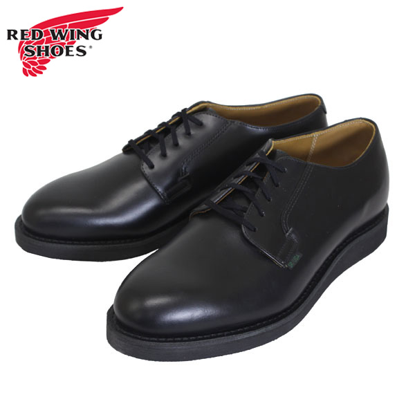 正規取扱店 RED WING(レッドウィング) 0101 POSTMAN OXFORD(ポストマンオックスフォード)ポストマンシューズ BLACK CHAPARRAL