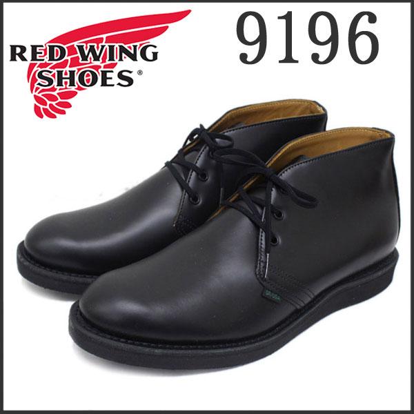 正規取扱店 RED WING(レッドウィング) 9196 POSTMAN CHUKKA(ポストマンチャッカ) ポストマンブーツ BLACK CHAPARRAL