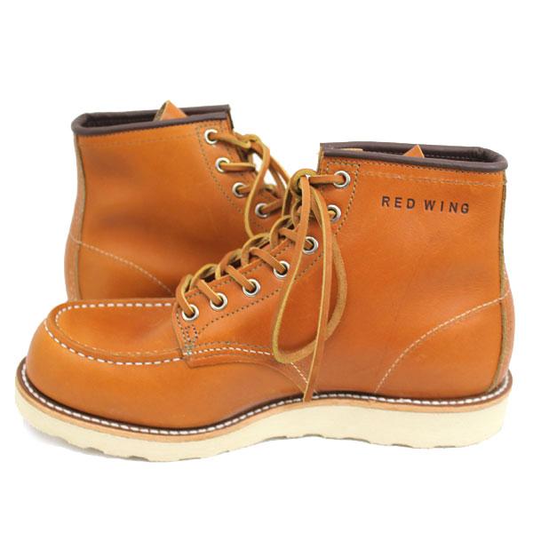 2011-2012新作 正規取扱店 REDWING (レッドウィング) 9875 6inch CLASSIC MOC TOE ブーツ ゴールドラセットセコイア 犬タグ