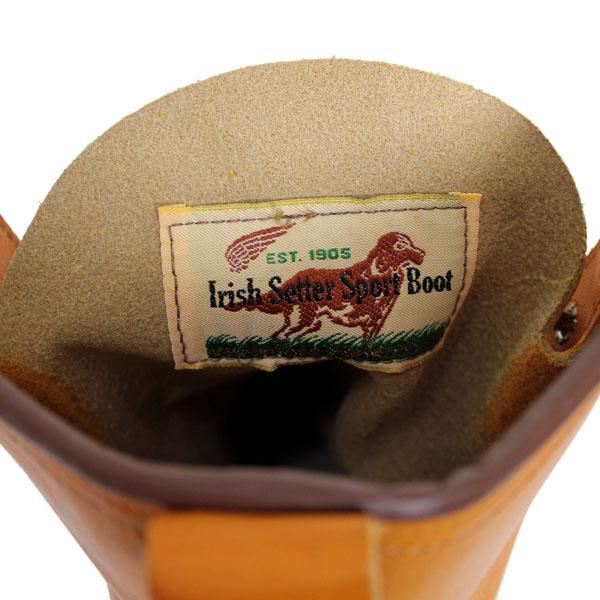 2012-2013新作 正規取扱店 REDWING (レッドウィング) 9877 IRISH SETTER アイリッシュセッター ゴールドラセット・セコイア 犬タグ