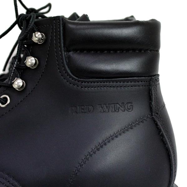 2012新作 正規取扱店 REDWING (レッドウィング) 8133 SUPER SOLE MOC-TOE スーパーソールモックトゥ BLACK CHROME