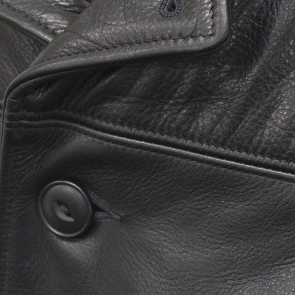 正規取扱店 SCHOTT(ショット) 533US LEATHER CAR COAT(レザーカーコート) BLACK