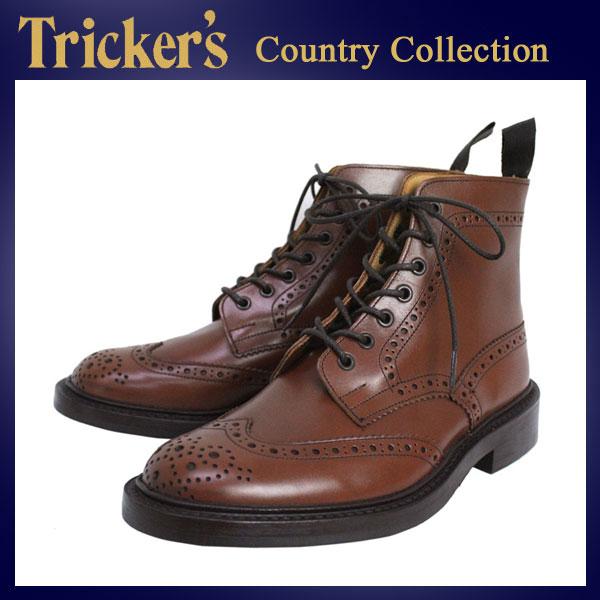 正規取扱店 Tricker's トリッカーズ 2508M COUNTRY BROGUE(カントリーブローグ) ダイナイトソール ビーチナットアンティーク TK026