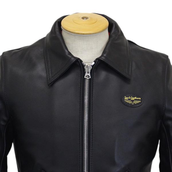 正規取扱店 Lewis Leather(ルイスレザー) No.59T CORSAIR TIGHT FIT(コルセア タイトフィット) BLACK ブラック