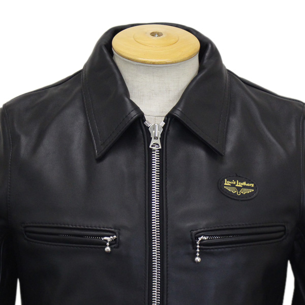 正規取扱店Lewis Leather(ルイスレザー) No.551T DOMINATOR TIGHT FIT(ドミネータータイトフィット) BLACK ブラック